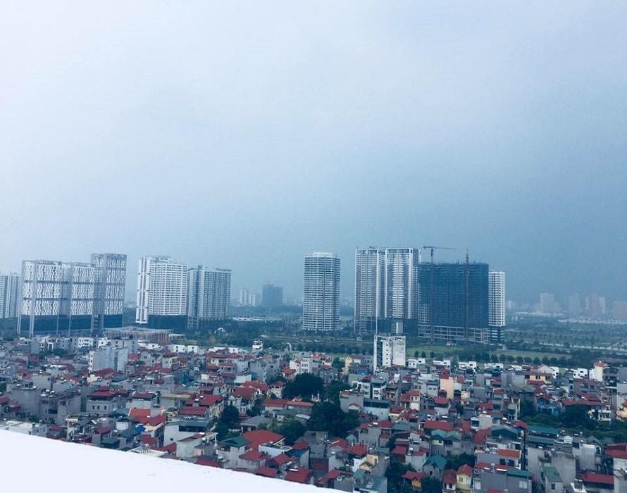 chung cư xuân đỉnh view khu đô thị ngoại giao đoàn