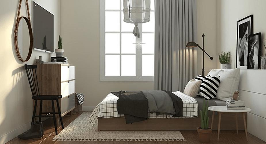 Phòng ngủ Dự án C1 C2 Xuân Đỉnh