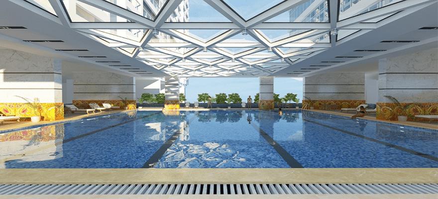 Bể bơi Horizon Tower Ngoại Giao Đoàn