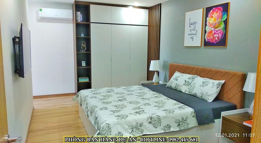 phòng ngủ chung cư tây hồ river view