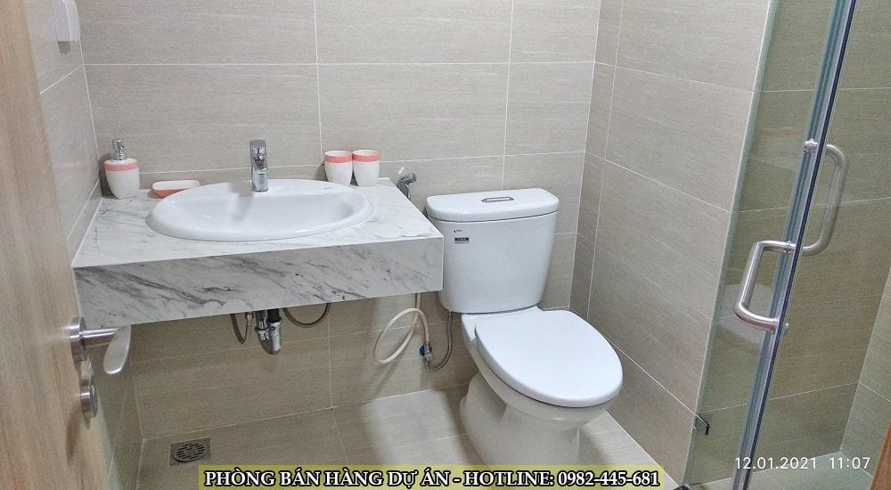phòng vệ sinh chung cư tây hồ river view
