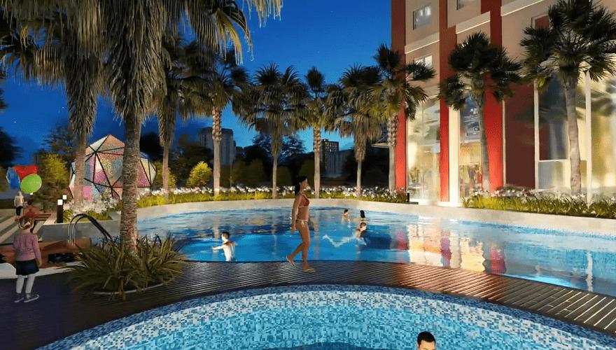 bể bơi hà nội paragon