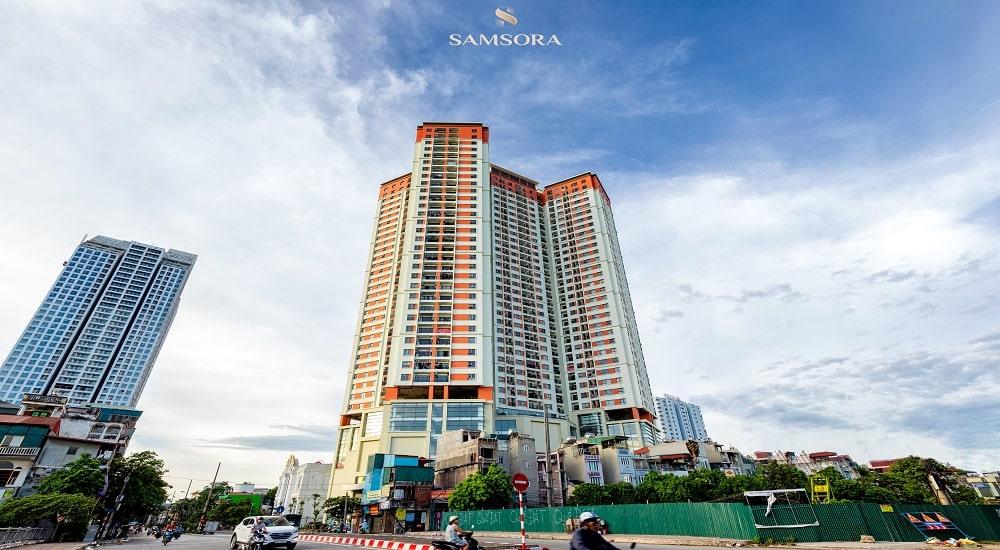 hình ảnh thực tế chung cư Samsora Premier 1