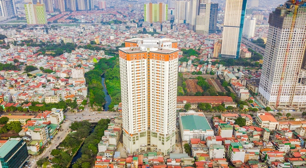 hình ảnh thực tế chung cư Samsora Premier 2
