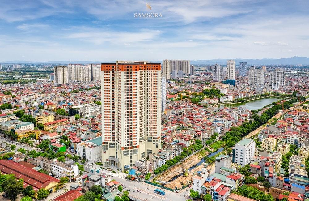 hình ảnh thực tế chung cư Samsora Premier 3