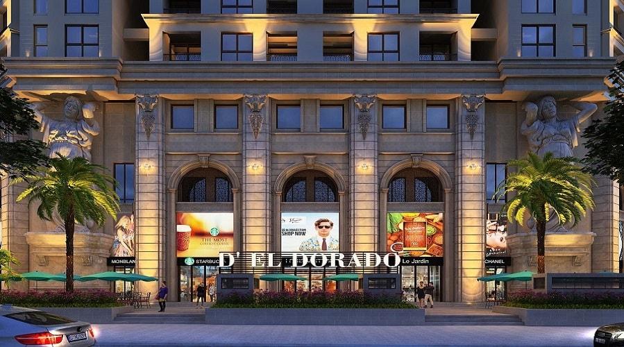 trung tâm thương mại dự án eldorado