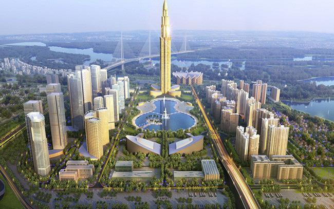 thành phố thông minh 4 tỷ USD do BRG hợp tác với nhà đầu tư Nhật dọc trục Nhật Tân – Nội Bài
