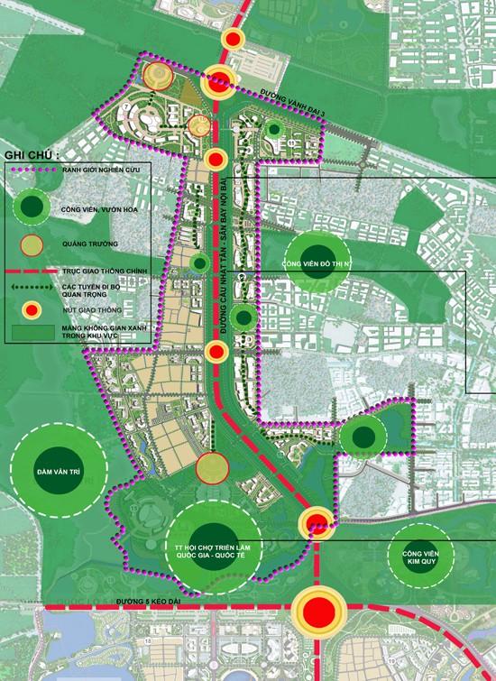 đô thị thông minh hơn 4 tỷ USD Nhật Tân – Nội Bài-2
