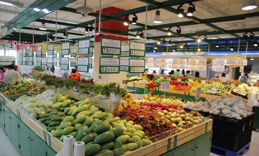 siêu thị ở chung cư ecohome 3 đông ngạc