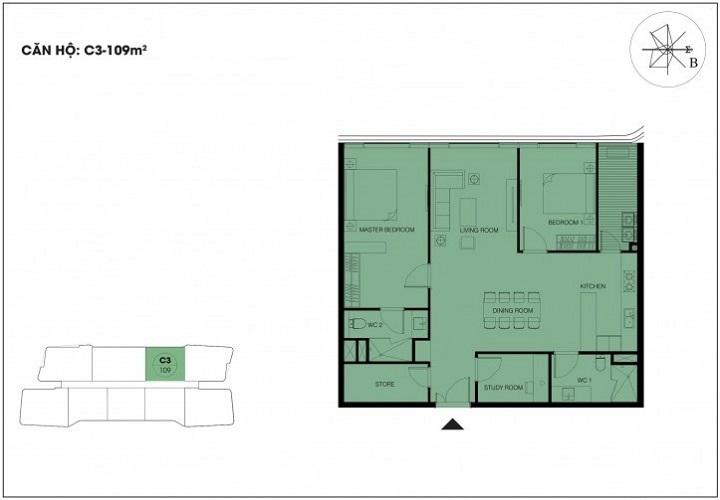 căn hộ 109m2 dự án n01 t6 t7 ngoại giao đoàn