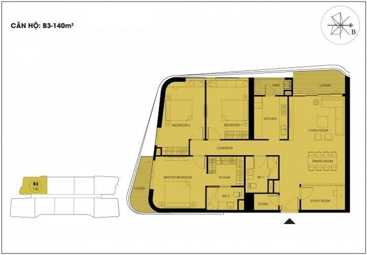 căn hộ 140m2 dự án n01 t6 t7 ngoại giao đoàn