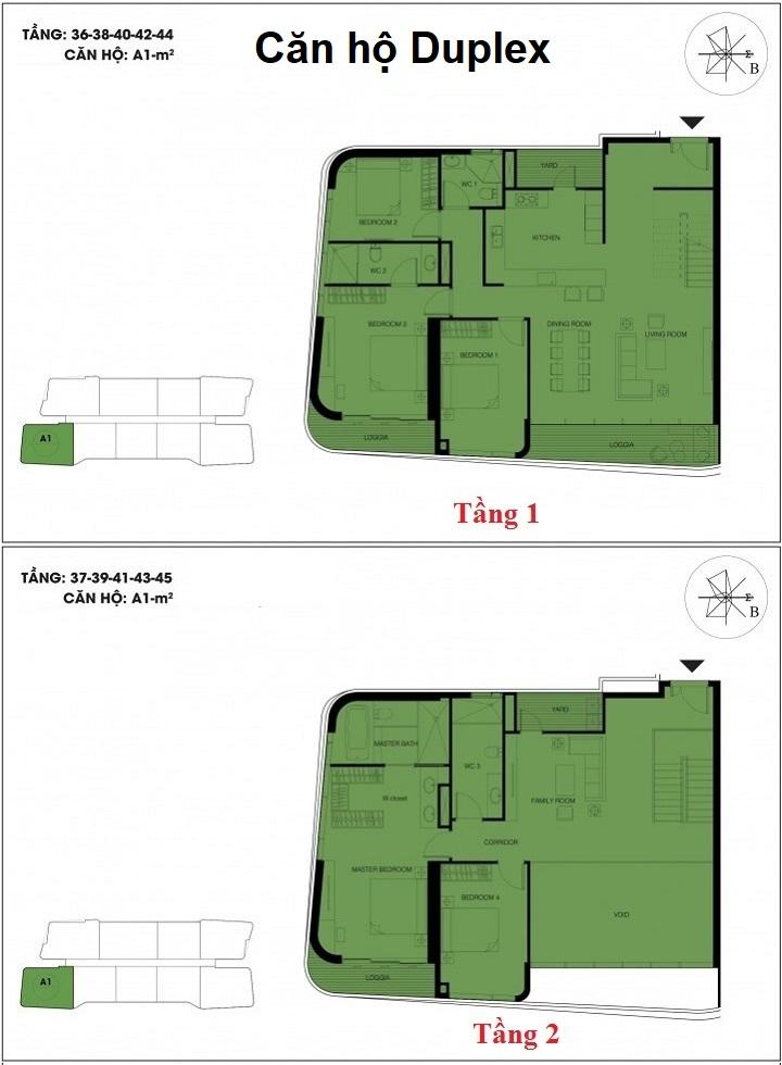 căn hộ duplex dự án n01 t6 t7 ngoại giao đoàn 1
