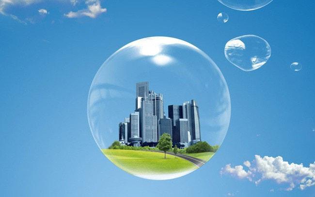 dấu hiệu bong bóng bất động sản