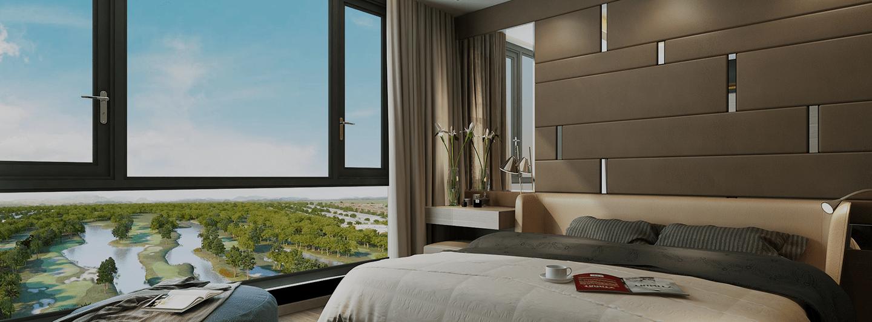view từ căn hộ chung cư luxury park view