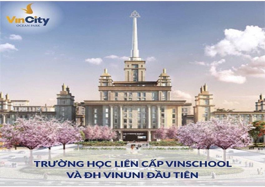 đại học vinuni ở chung cư vincity gia lâm