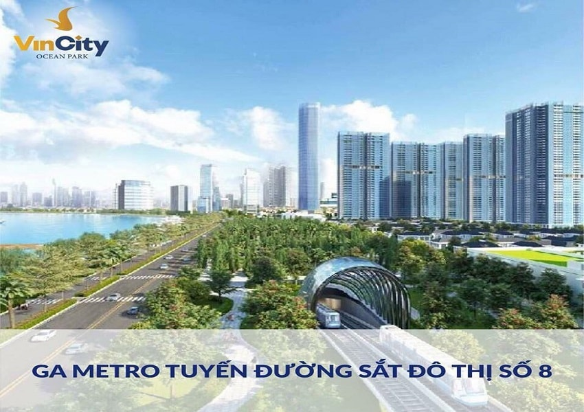 tuyến metro chạy qua vincity gia lâm