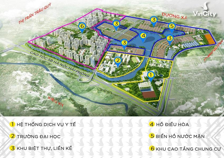 vị trí vincity ocean park gia lâm