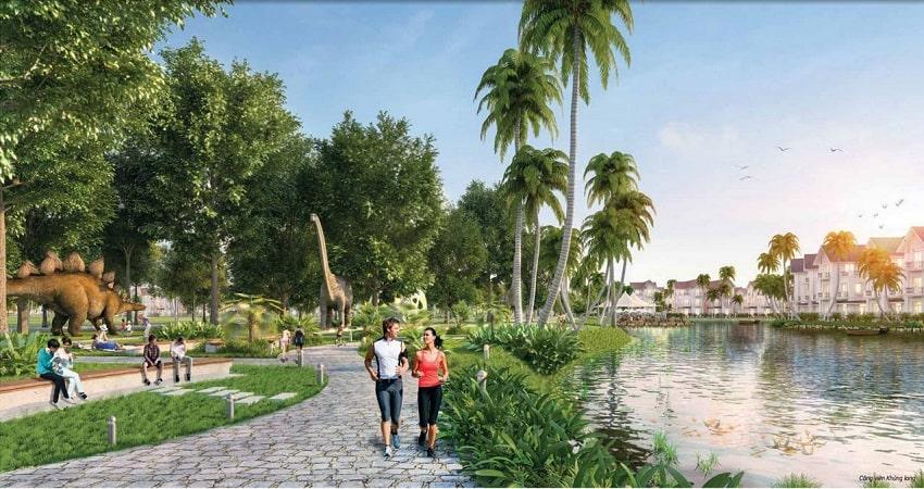 công viên đất nền tân thành uông bí