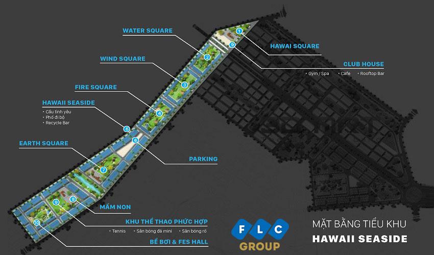 phân khu hawaii seaside flc hà khánh quảng ninh