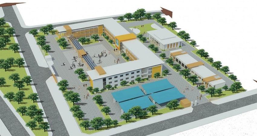 trường học đất nền tân thành uông bí