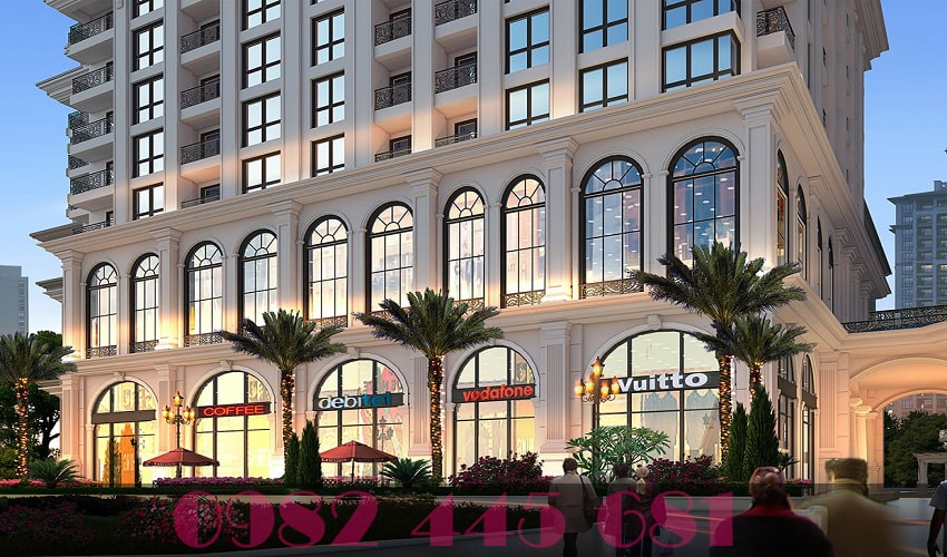 trung tâm thương mại chung cư The lotus center