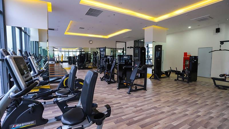 phòng tâp gym chung cư epic home