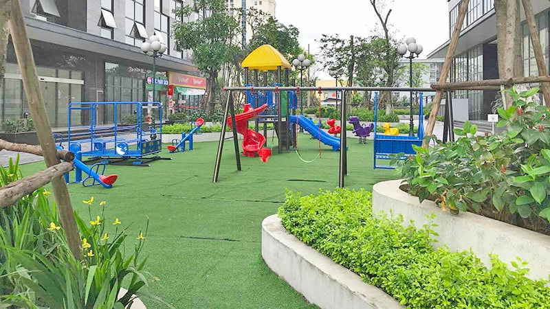khu vui chơi trẻ em chung cư epic home