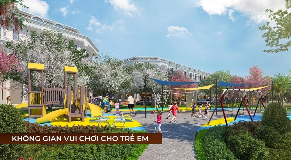 khu vui chơi trẻ em liền kề Calyx Residence 319 Đông Anh
